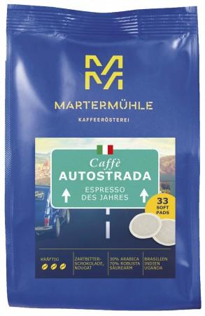 Kaffeepads Espresso Autostrada, 33 Stk.