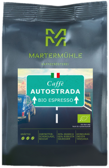 Bio Espresso Caffè Autostrada 250g/ Ganze Bohne