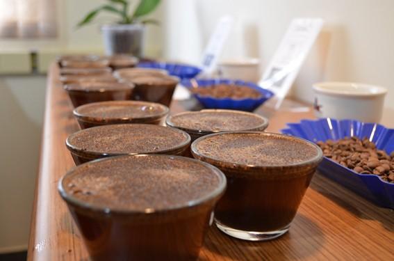Cupping-Kaffee-Verkostung
