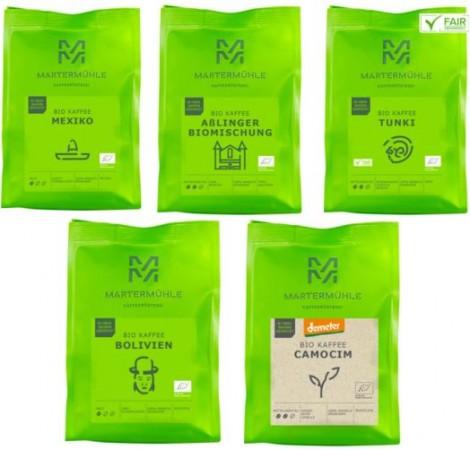Bio Power Kaffee - 5x250g