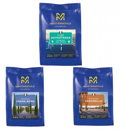 La Dolce Vita - 3x250g Espresso
