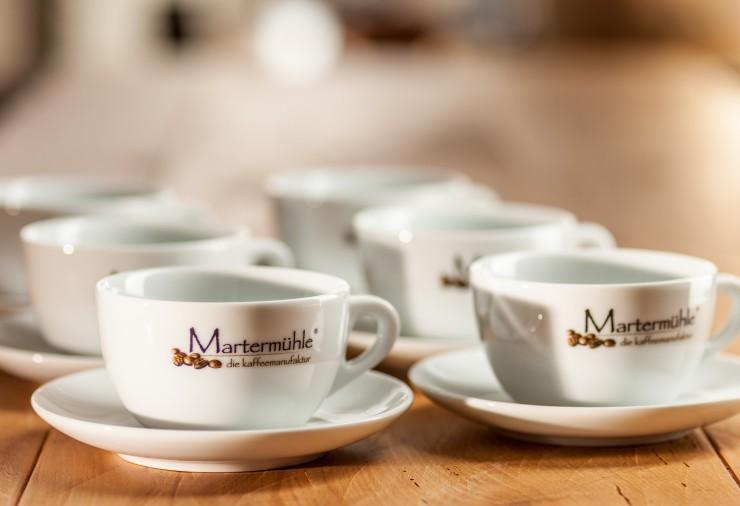 Cafe Latte Tasse Martermühle 6er Vorteilspack