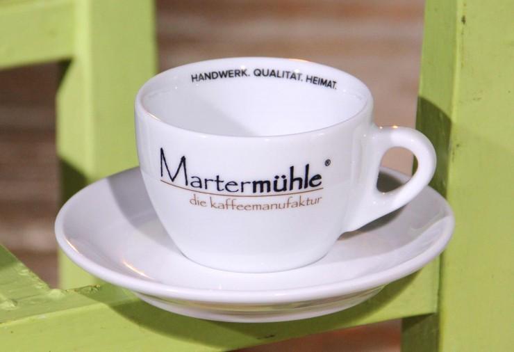 Exklusive Kaffee/Cappuccinotasse Martermühle