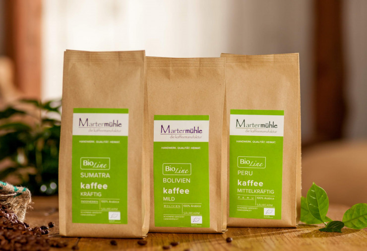 Bio Kaffee Probierpaket