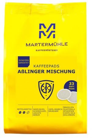 Kaffeepads Aßlinger Mischung, 33 Stk.