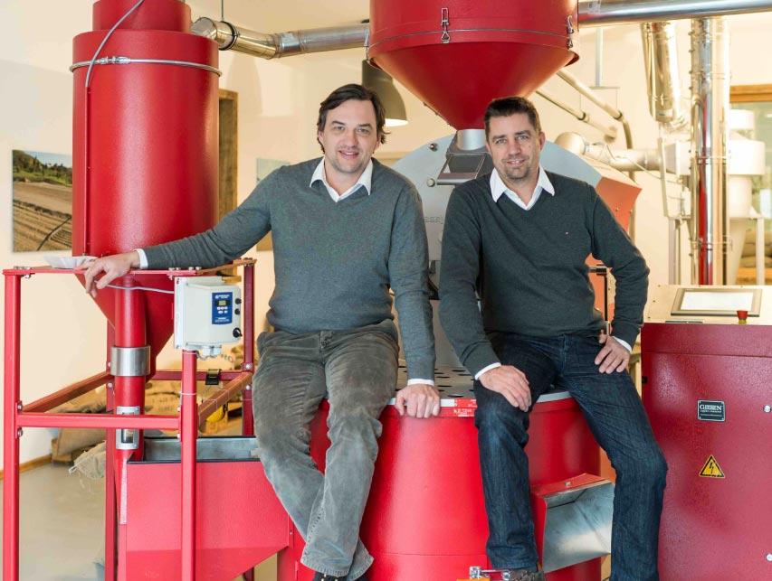 Kaffeeröster Ralf Heincke & Peter Vit