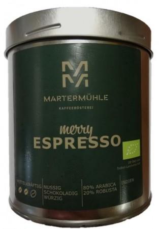 Bio Weihnachtsespresso 250g