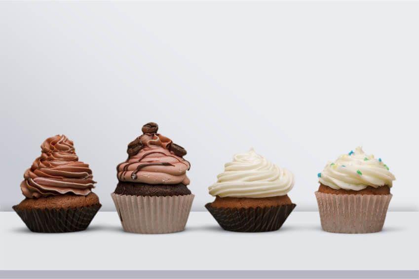 Das Cupcake Grundrezept Wahlweise Vegan Rezepte Blog