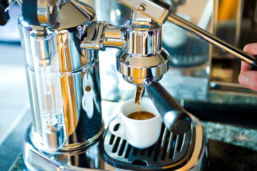 Handhebel-Espressomaschine