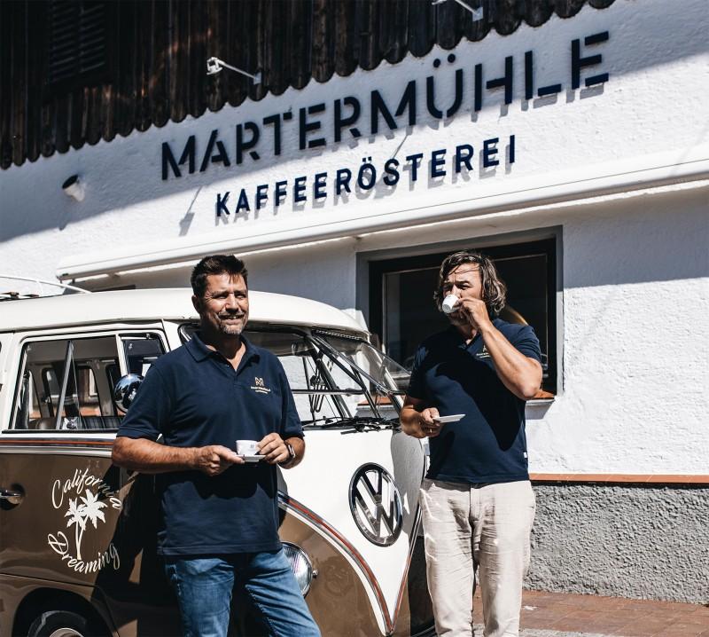 Martermühle Kaffeerösterei Bauernhof