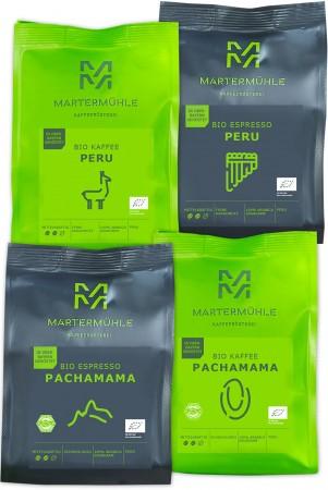 BIO Machu Picchu – 4x250g Kaffee/Espresso