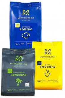 """""""Für deinen Vollautomaten"""" – Kaffee & Espresso Probierpaket 3x250g"""