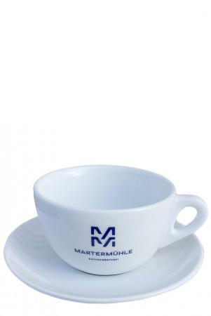 Exklusive Cafe Latte Tasse Martermühle