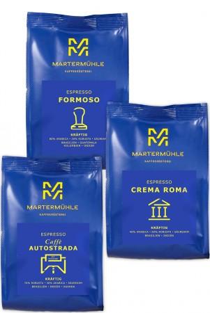 """La Dolce Vita"" Espresso Probierpaket - 3x250g"