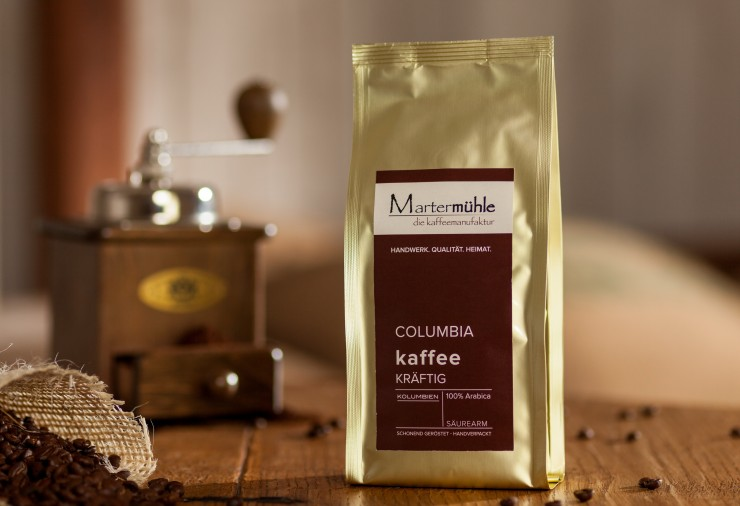 Kaffee Columbia