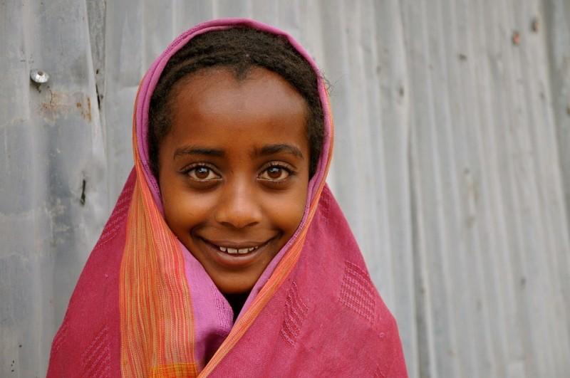 Martermuehle-Äthiopien-Mädchen