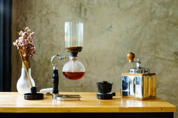 Vakuum-Kaffeebereiter-Syphon