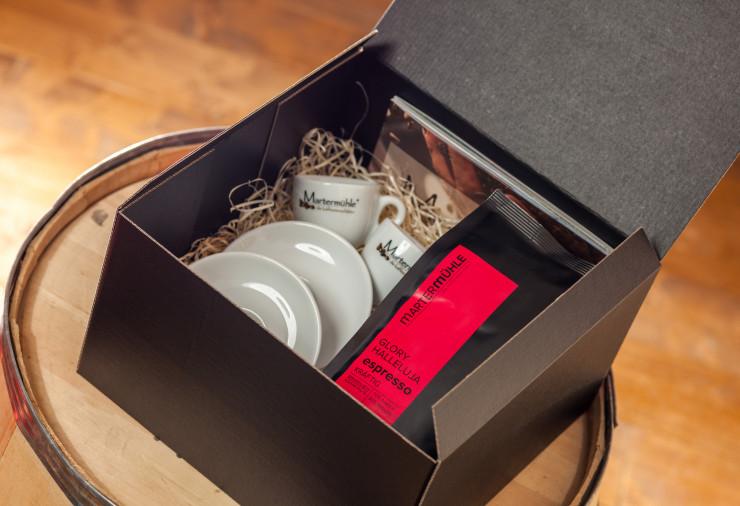 Geschenkbox Espresso