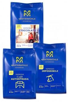 """Tris de Espressi"" Espresso Probierpaket - 3x1kg"