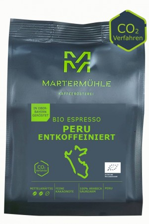 BIO Espresso Peru entkoffeiniert