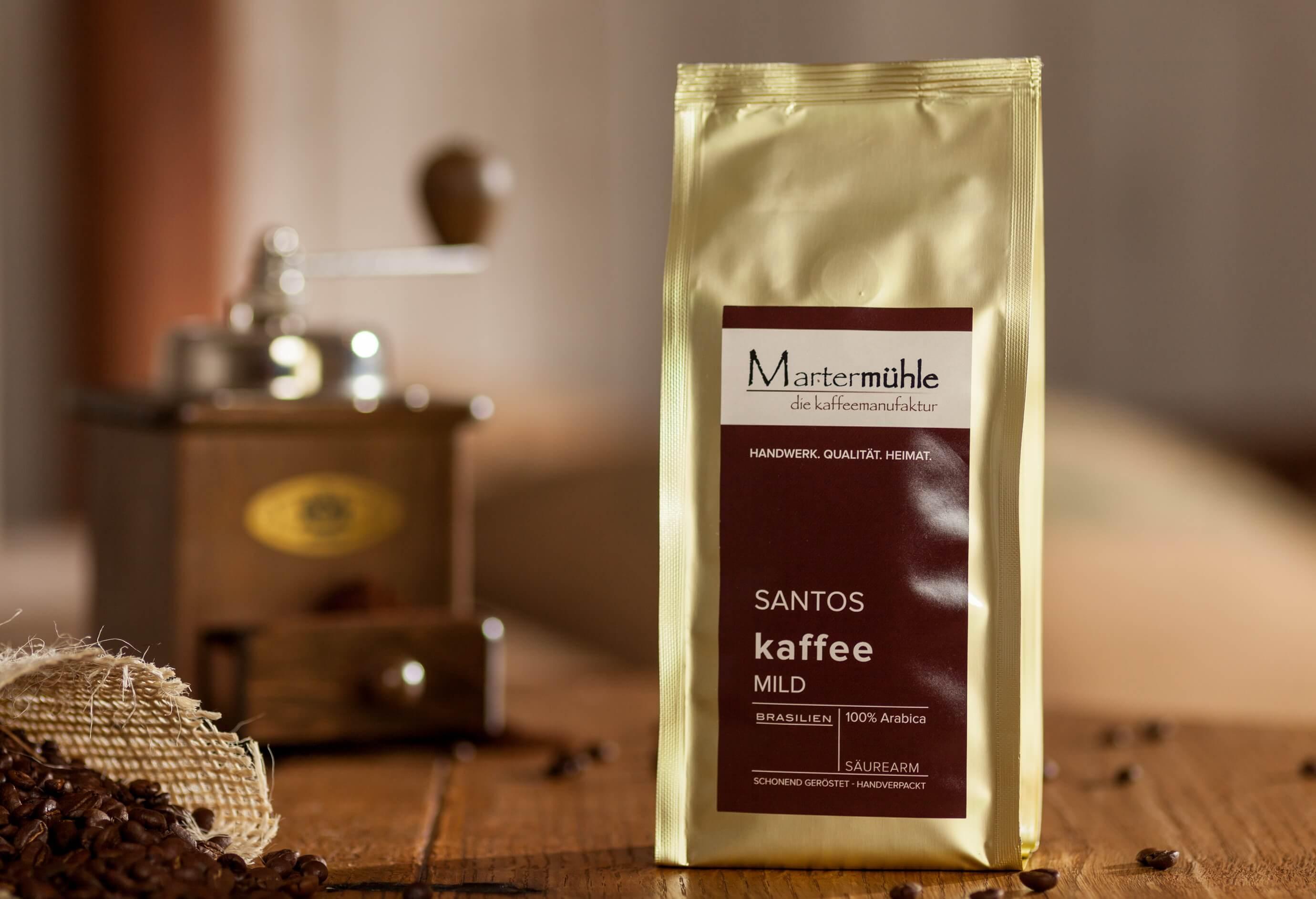 marterm hle santos kaffee kaufen kaffeer sterei marterm hle. Black Bedroom Furniture Sets. Home Design Ideas