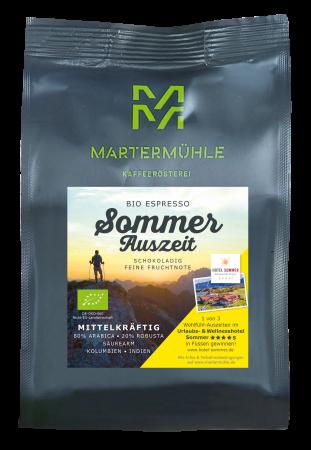 Bio Sommer-Auszeit Espresso