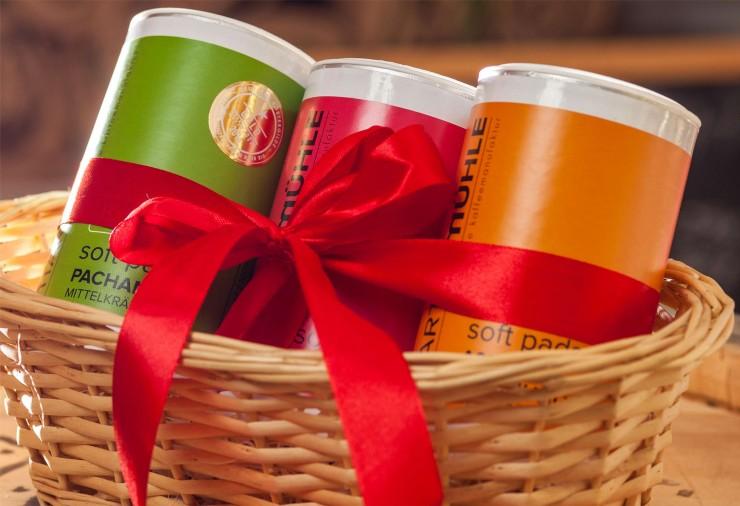 Geschenkset Kaffeepads