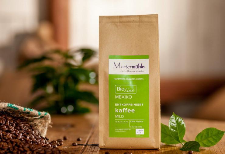 Bio Kaffee entkoffeiniert Mexiko