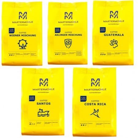 Best-of Martermühle Kaffee - 5x250g