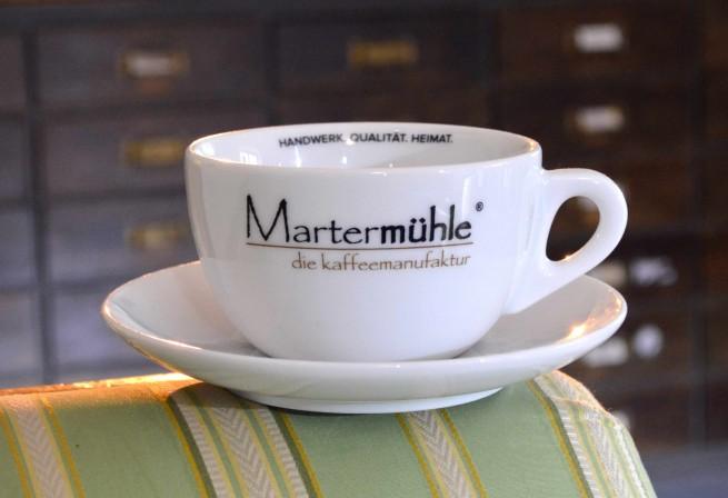 Cafe Latte Tasse Martermühle