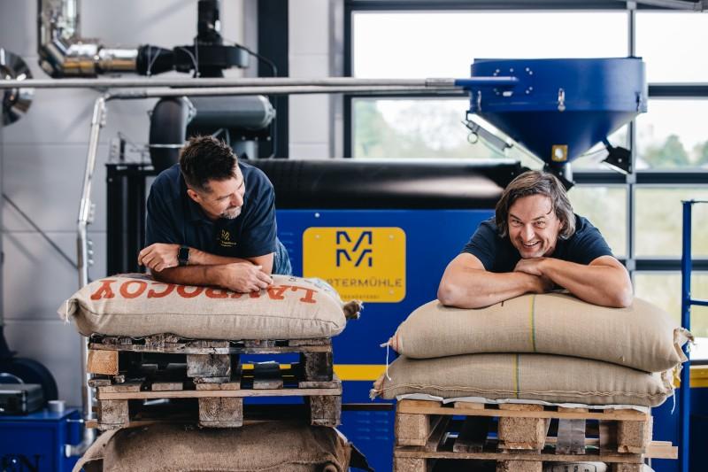 Führungen in unserer Kaffeemanufaktur