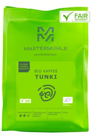 BIO Kaffee Tunki