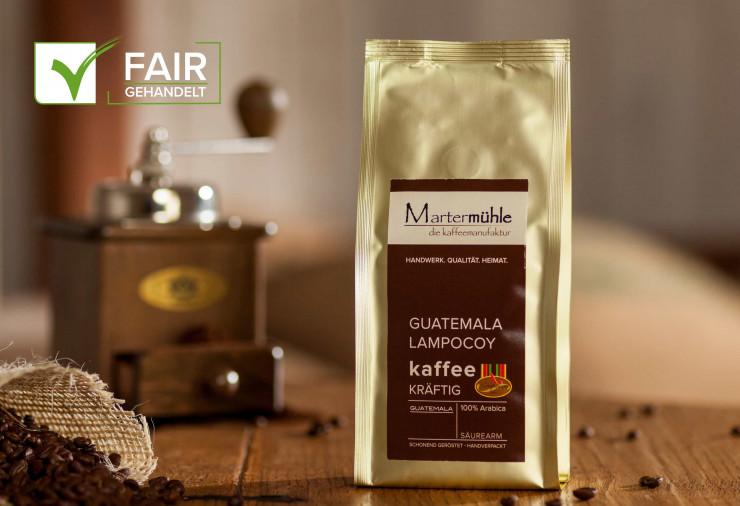 Kaffee Guatemala-Lampocoy