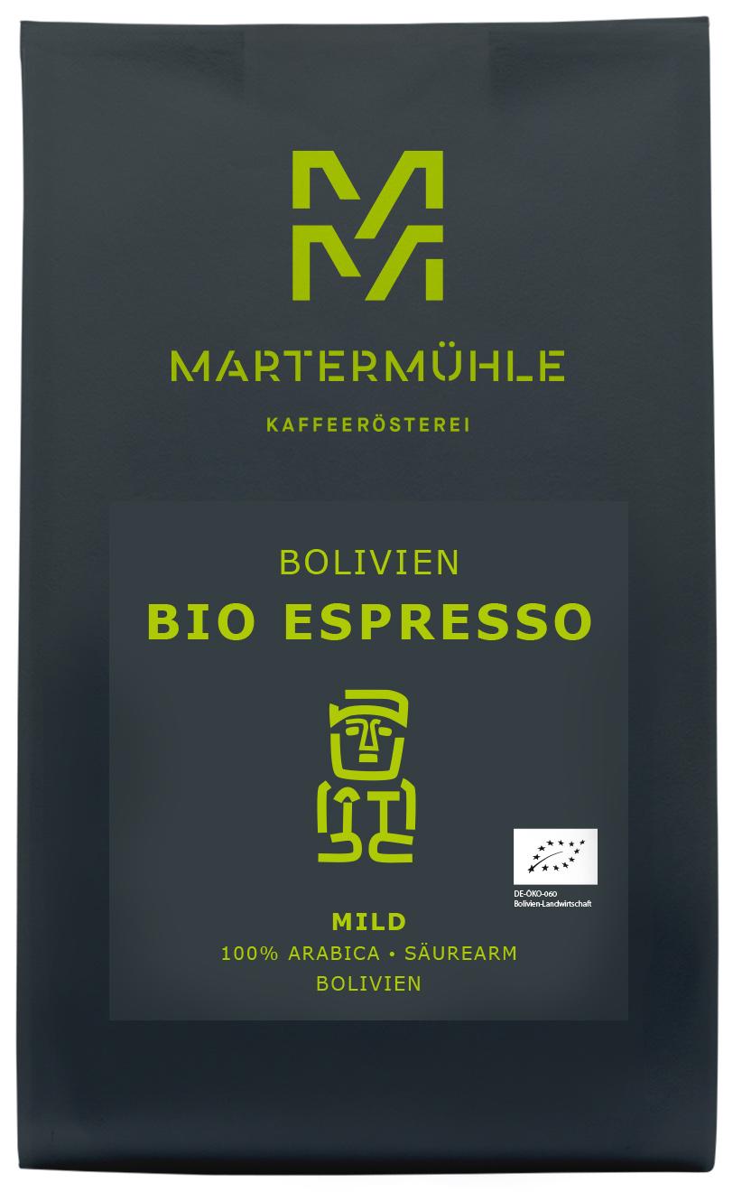 Bio Espresso Aus Bolivien Online Kaufen Kaffeerosterei Martermuhle