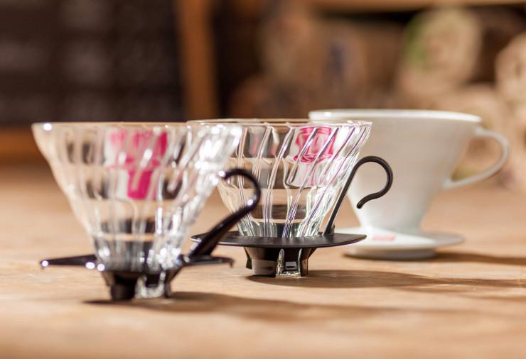 Auswahl von Kaffeefiltern